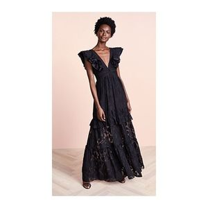 Rachel Zoe Dresses - Rachel Zoe Violet Fil Coupe Gown
